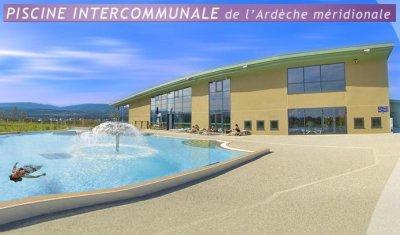 Piscine complexe intercommunal de lablachere a 15 mn en for Complexe piscine