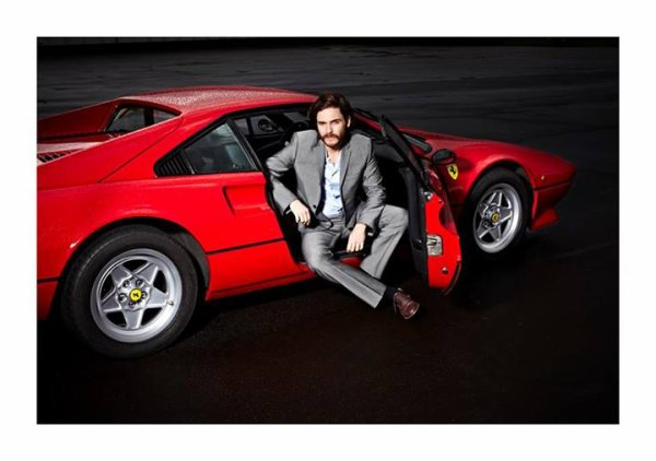 Daniel Brühl, Ferrari 308GTB - Thomas Rabsch