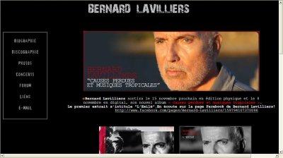 http://www.bernardlavilliers.net/