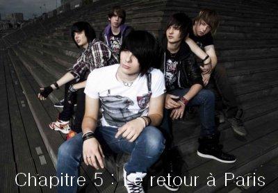 Chapitre 5 : Le retour à Paris