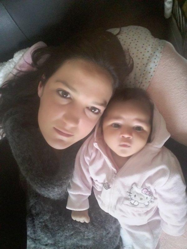 Inaya et maman je t'aime m'y baby
