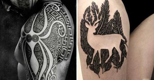 Les tattoos en jeux d'encre, vous aimez?