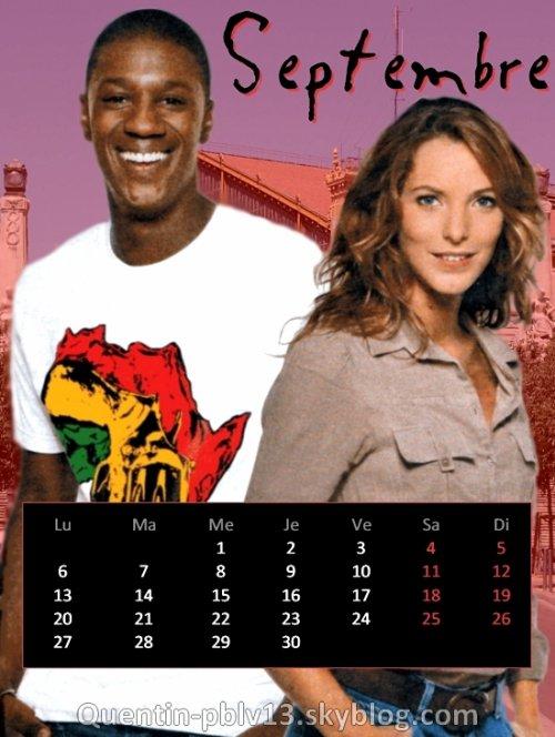 Voici mon calendrier de Septembre 2010 !   Le nouveau mois est là, l'occasion de découvrir un nouveau calendrier !