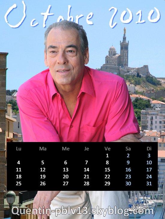 Voici mon calendrier d'Octobre 2010 !   Le nouveau mois est là, l'occasion de découvrir un nouveau calendrier !