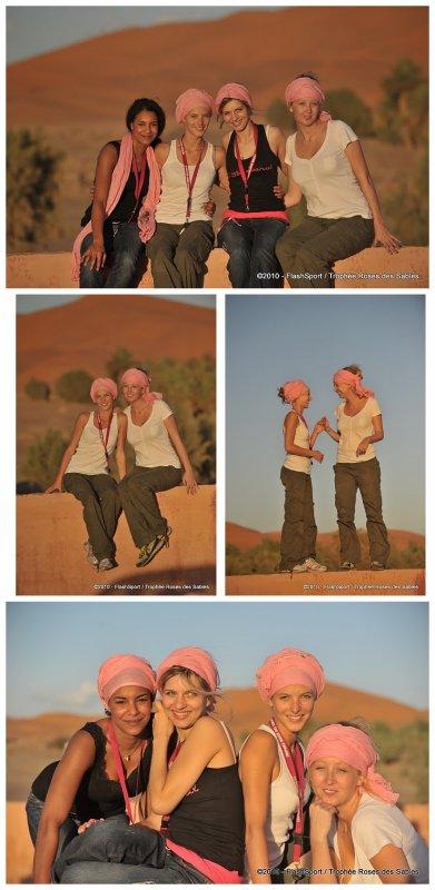 Elodie Varlet en route dans le Sahara !   Quelques photos de cette belle aventure ...