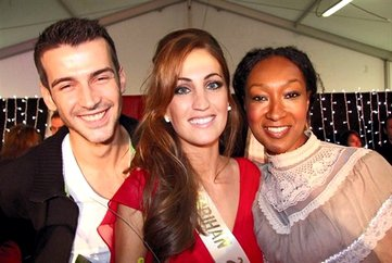 Plus belle la miss Morbihan !   Audrey Bonecker élue Miss Morbihan hier...