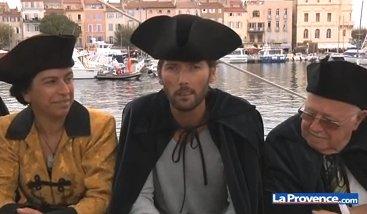 """Laurent Kerusore participe à la fête de la Ciotat !  L'acteur est le parrain de l'association """"Le blé de l' Espérance"""" !"""