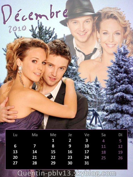 Voici mon calendrier de Décembre 2010 !   Le nouveau mois est là, l'occasion de découvrir un nouveau calendrier !