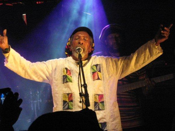 Super Concert de 'Ijahman Levi ! J'ai adoré !