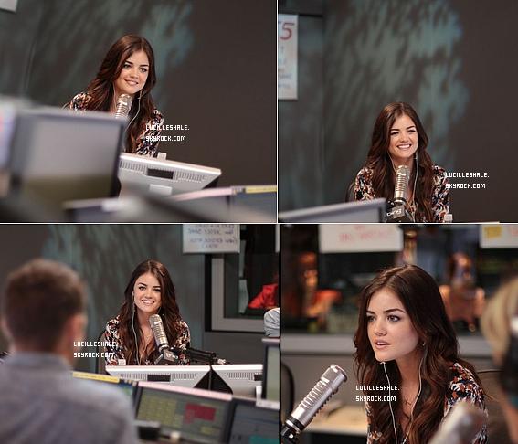 26AOUT : Lucy est à un interview de Ryan Seacrest avec Ian Harding.Vous pouvez écouter la vidéo ici.