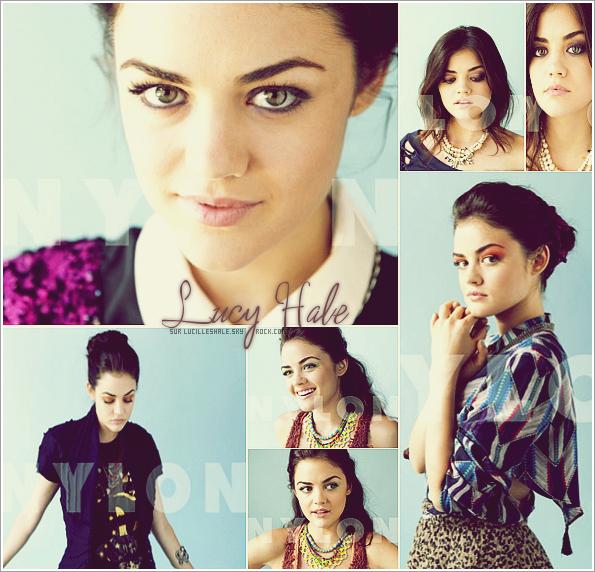 1SEPT : Découvre le nouveau photoshoot de Lucy pour le magazine Nylon