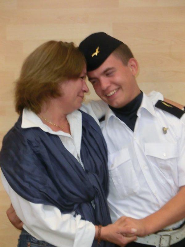 Moi et ma maman qui est tellement fiere de moi que ces larme font tout mon bonheur <3