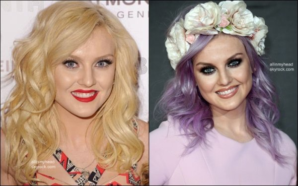 -  Perrie Edwards - ses changements capillaires  -