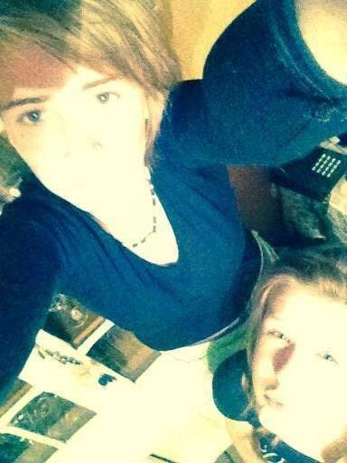 moi & la soeur <3