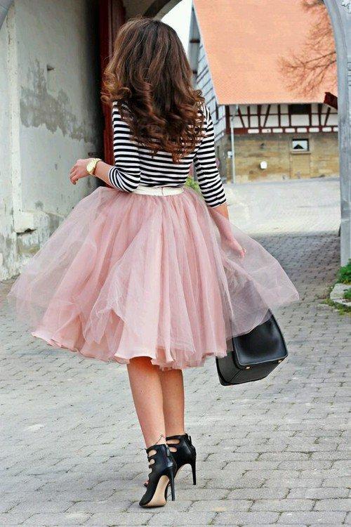 Mode : Porter une jupe en tulle ?