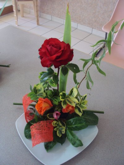 suite compositions florale pour la mrf de bressuire