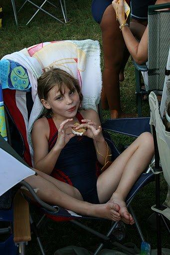 aurelie qui mange toujours