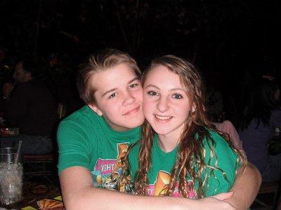 moi et mon cousin adoré