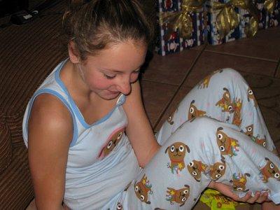 moi en pijama