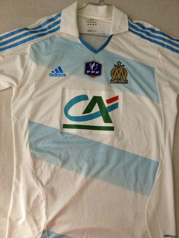 Maillot Olympique de Marseille Loic Rémy Coupe de France Vs. Quevilly