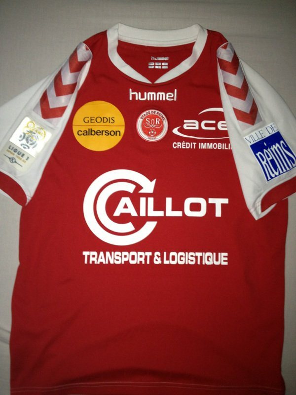 Maillot Stade de Reims Kamel Ghilas Ligue 1