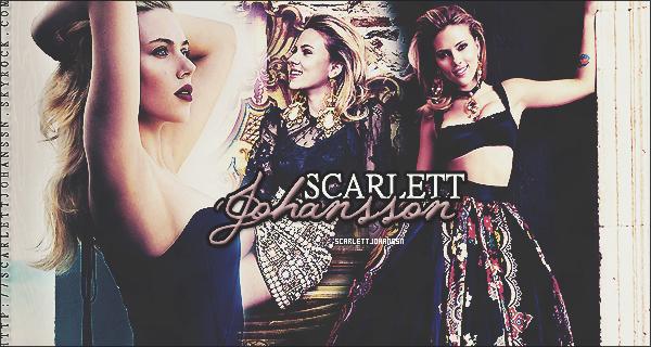 . _____ Bienvenue sur ton nouveau blog source sur la célèbre et talentueuse Scarlett Johansson ! _____ . Vous pouvez me retrouver sur IanSomerhaldr.com! .