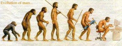 L'Homme évolu,si si....
