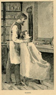 Un barbier qui donne du fils a retordre