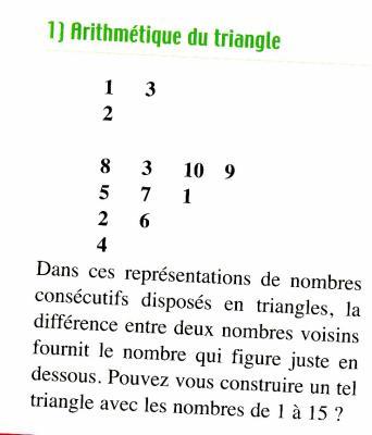 Probleme de triangle