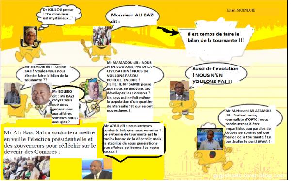 REDONNONS VIE A LA PROPOSITION DE MR ALI BAZI : FAIRE LE BILAN DE LA TOURNANTE