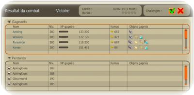 Glourséleste, commande et Vulkania!