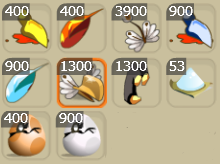 Nouveaux items!