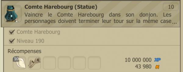 Succès déverrouillé : [Comte Harebourg (Statue)]