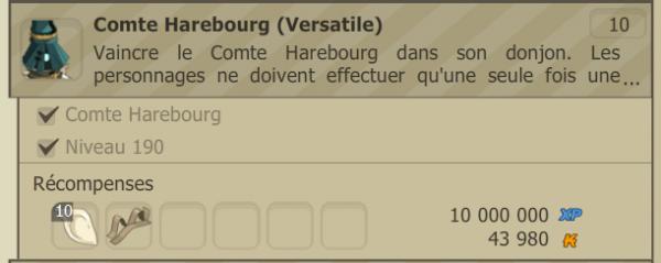 Comte [Succès Versatile déverrouillé]