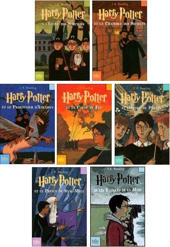 Harry Potter 1 2 3 4 5 6 Et 7 De J K Rowling Livres Cie