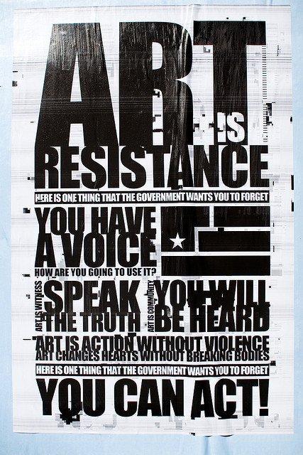 Nous sommes, nous sommes, à l'heure de la Résistance !