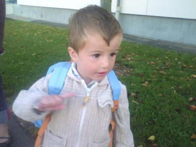 Mattias, le petit frère ♥.