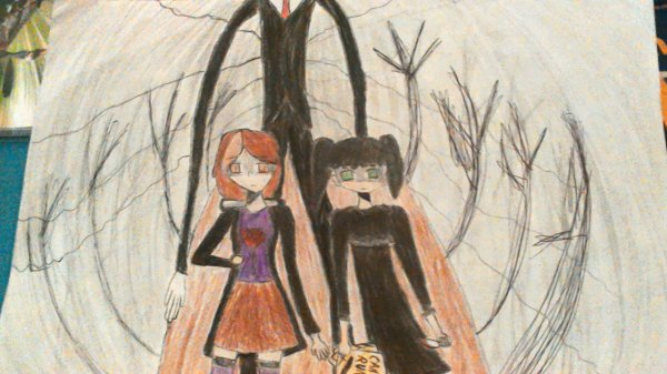Pour Alice O.  Slender Man ~ Slender Man ~ All the children try to run ~