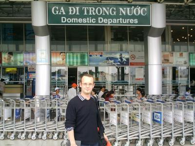 Arrivee au Vietnam