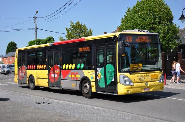 Irisbus Citelis 12 n° 7587