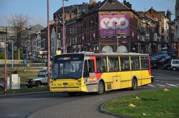 Van Hool A500 n° 7058