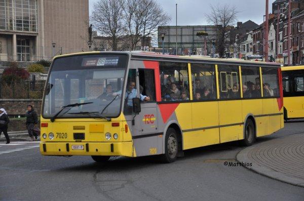 Van Hool A600 n° 7020