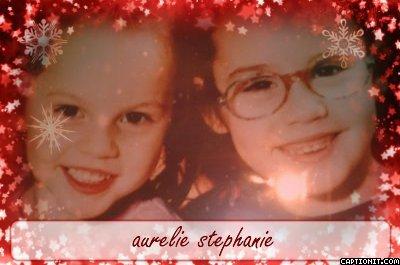 pour toi ma petite soeur stéphanie je toublierai jamais!!!!!!!!!!!!!!(l)(l)(l)