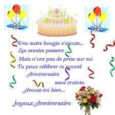 Poésie Joyeux Anniversaire Mon Ami Jean Marie Poésies Et
