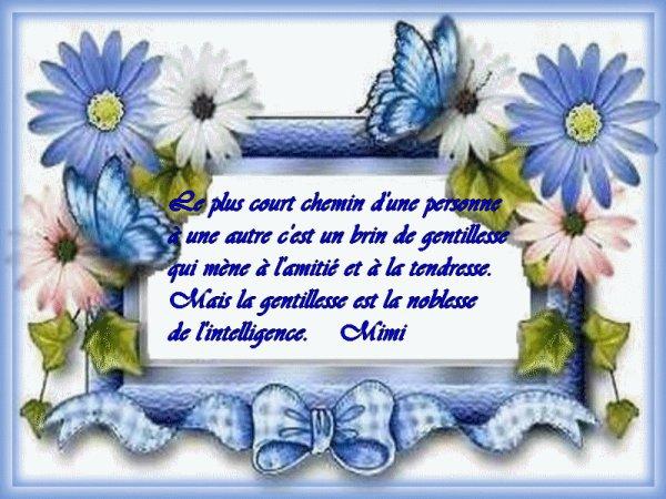 Poésie La Gentillesse Poésies Et Citations