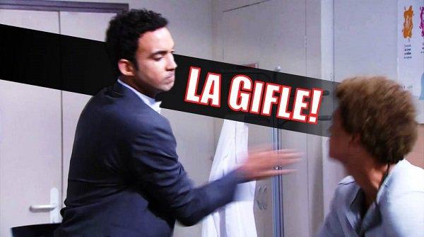 Gabriel giffle Baptiste .... DECOUVREZ LA SUITE DE PBLV ICI
