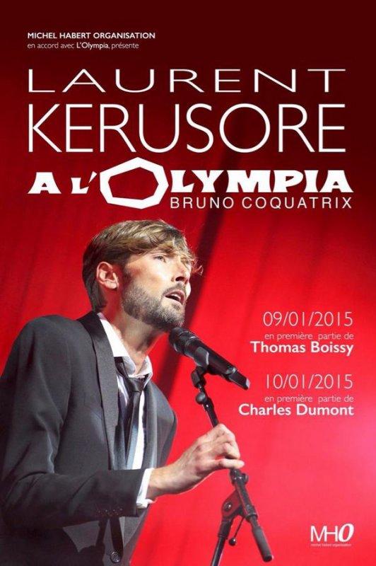 Laurent Kérusoré (Thomas de PBLV) bientôt à l'Olympia !