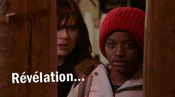 Zoe et Thérèse découvrent que ...