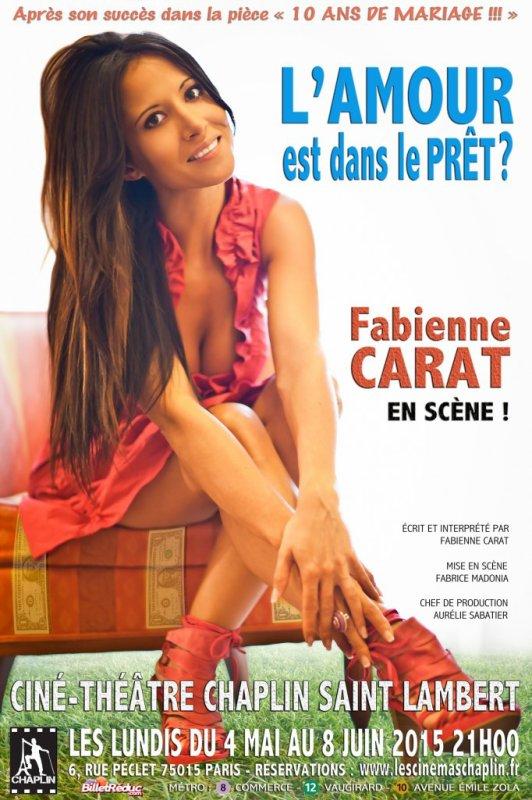 Fabienne Carat (Samia) brûle les planches