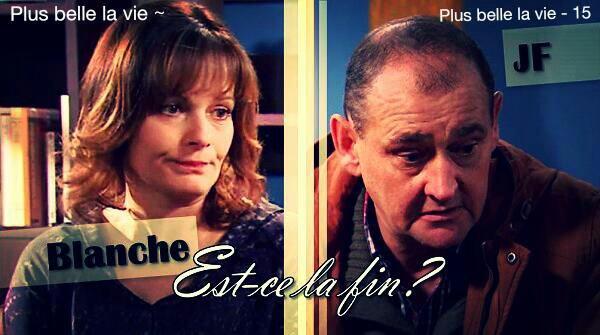 Blanche et J.Francois, c'est fini ??